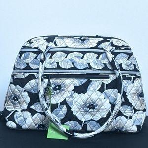 Vera Bradley Retired Camellia Bowler Bag NWT